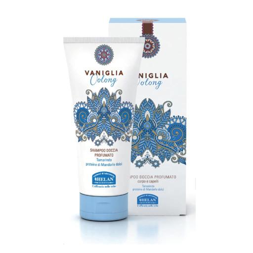 HELAN - Shampoo Doccia Profumato - Linea Vaniglia Oolong - 200ml
