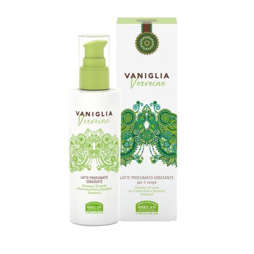 HELAN - Latte Profumato Idratante - Linea Vaniglia Verveine - 200ml