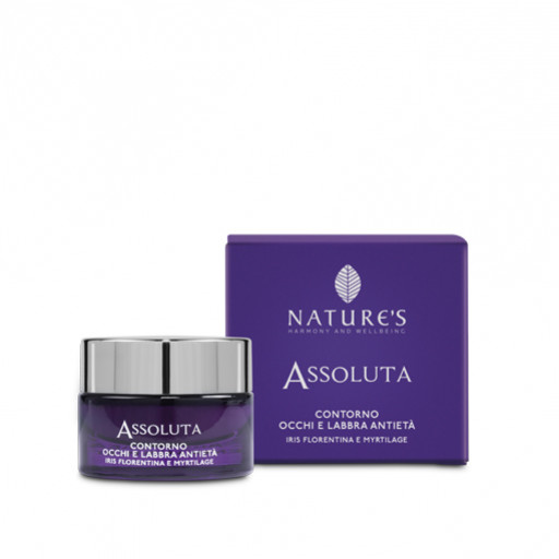 NATURE'S - Contorno occhi e labbra Antietà - Linea Assoluta - 15ml