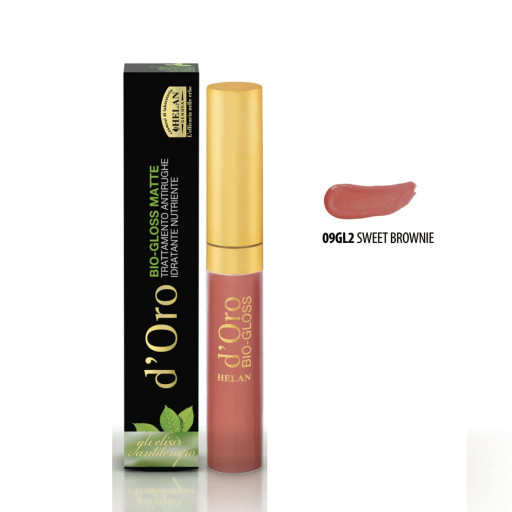 HELAN - Bio-Gloss Matte Sweet Brownie - Linea d'Oro - 9ml