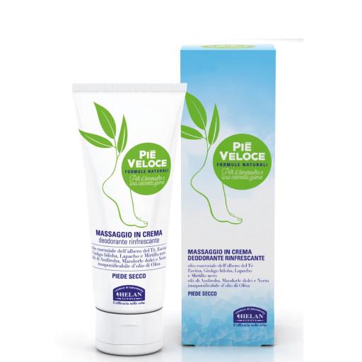 HELAN - Massaggio in crema deodorante rinfrescante - Linea Piè Veloce - 100ml