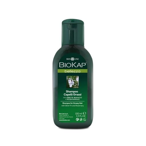 BIOS LINE  - Shampoo Capelli Grassi - Linea Biokap Bellezza - 100ml