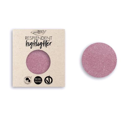 PUROBIO COSMETICS - Resplendent Highlighter Refill n.02 Rosa