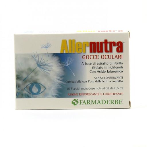 Aller Nutra Gocce Oculari - 10 fiale monodose richiudibili