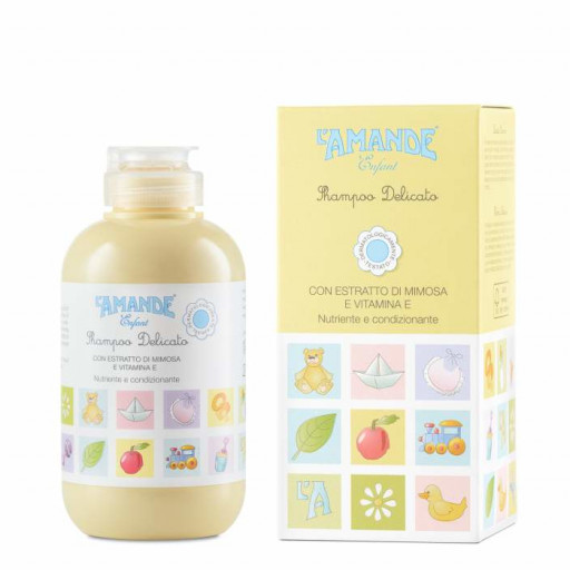 L'AMANDE - Shampoo delicato - Linea Enfant - 200ml