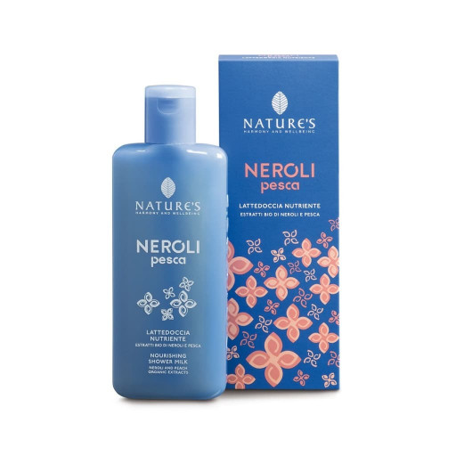 NATURE'S - Lattedoccia Nutriente - Linea Neroli Pesca - 100ml