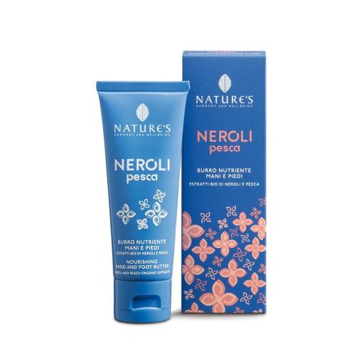 NATURE'S - Burro nutriente mani e piedi - Linea Neroli Pesca - 75ml