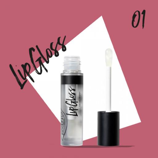 PUROBIO COSMETICS - LipGloss Trasparente - 4ml