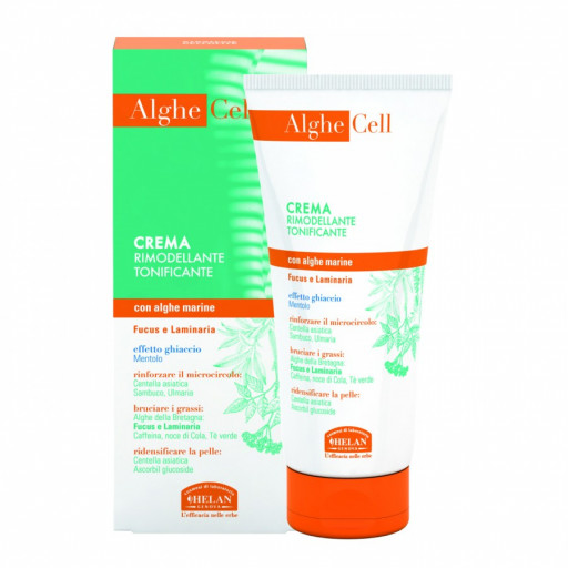 HELAN - AlgheCell Crema Rimodellante Tonificante - Linea Strategie Cellulite - 200ml