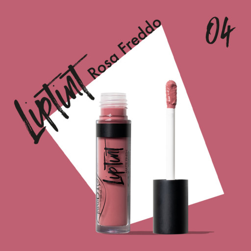 PUROBIO COSMETICS - LipTint n. 04 - Rosa freddo - 4,8ml