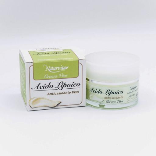 NATURVITA - Crema Antiossidante Viso con Acido Alfa Lipoico - 50ml