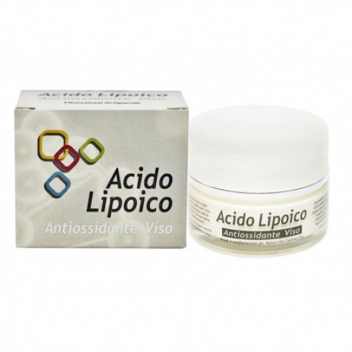 Crema Antiossidante Viso con Acido Alfa Lipoico - 50ml