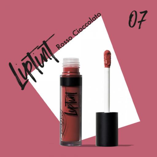 PUROBIO COSMETICS - LipTint n. 07 - Rosso cioccolato - 4,8ml