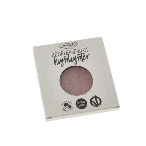 PUROBIO COSMETICS - Resplendent Highlighter Refill n.04 - Oro rosa
