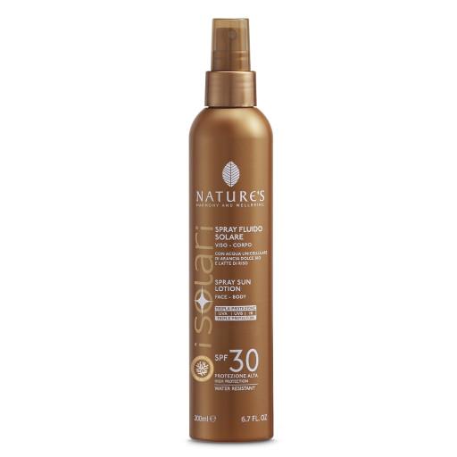 NATURE'S - Spray Solare Fluido SPF 30 - Linea I Solari - 200ml