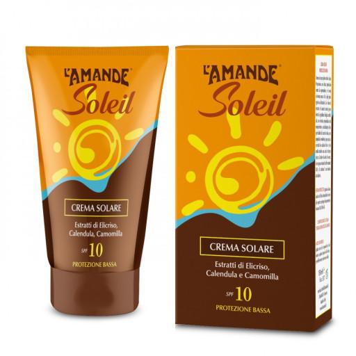 L'AMANDE - Crema Solare viso e corpo SPF 10 - Linea L'Amande Soleil - 125ml