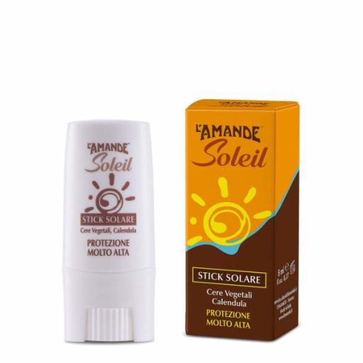 Stick Solare SPF 50+ - Linea L'Amande Soleil - 9ml