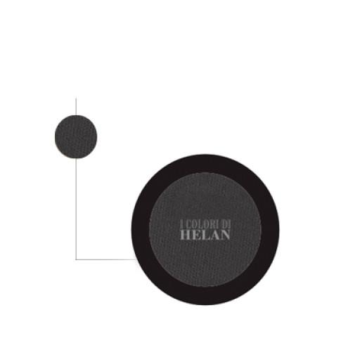 Bio Ombretto Compatto Nero - Linea I Colori di Helan