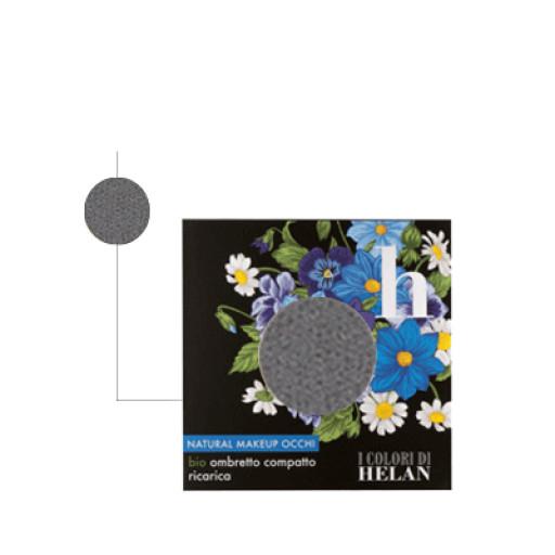 HELAN - Bio Ombretto Compatto ricarica Smokey - Linea I Colori di Helan
