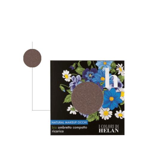 HELAN - Bio Ombretto Compatto ricarica Tabacco - Linea I Colori di Helan