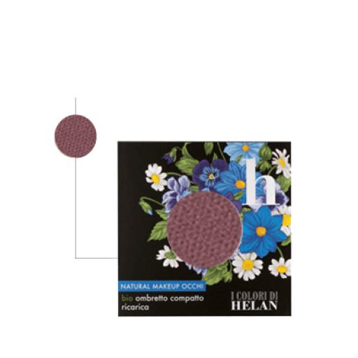 HELAN - Bio Ombretto Compatto ricarica Vinaccia - Linea I Colori di Helan