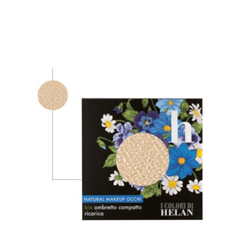 HELAN - Bio Ombretto Compatto ricarica Champagne - Linea I Colori di Helan