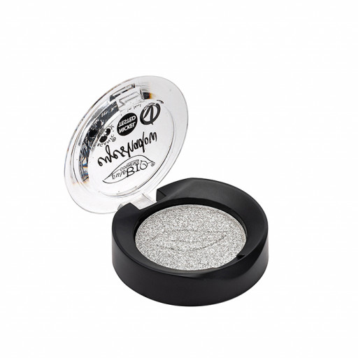 PUROBIO COSMETICS - Ombretto Shimmer in cialda n.23 Argento