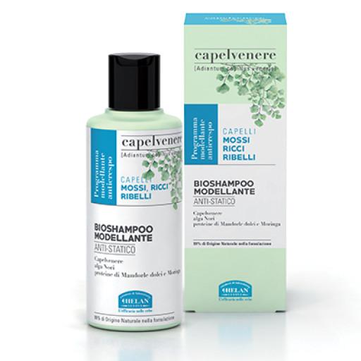 HELAN - BioShampoo Modellante AntiStatico - Linea Capelvenere - 200ml