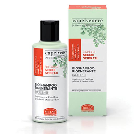 HELAN - BioShampoo Rigenerante Emolliente - Linea Capelvenere - 200ml