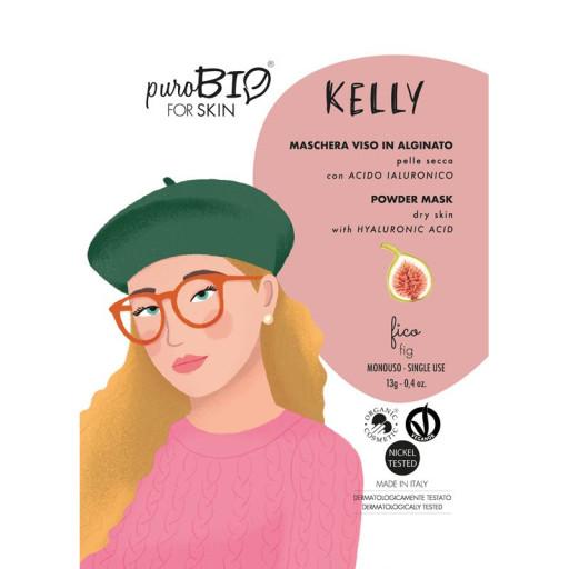 PUROBIO COSMETICS - KELLY - Maschera viso bio peel off per pelle secca - n. 08 Fico