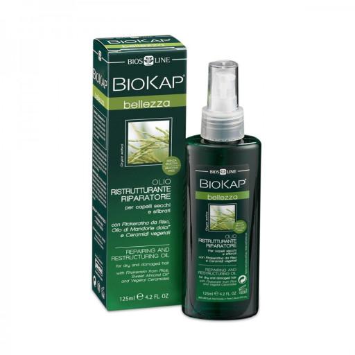 BIOS LINE  - Olio Ristrutturante Riparatore - Linea Biokap Bellezza - 125ml