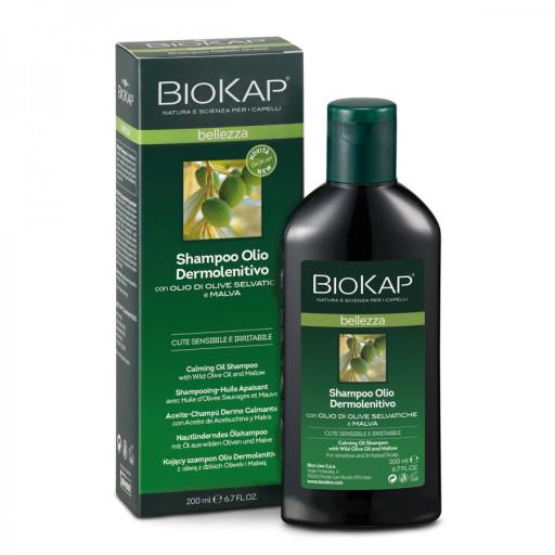 BIOS LINE  - Shampoo Olio Dermoprotettivo - Linea Biokap Bellezza - 200ml