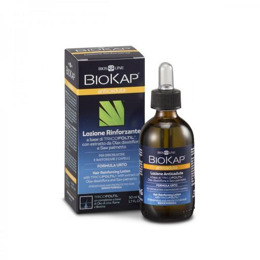 BIOS LINE  - Lozione Anticaduta Rinforzante - Linea Biokap Anticaduta - 50ml