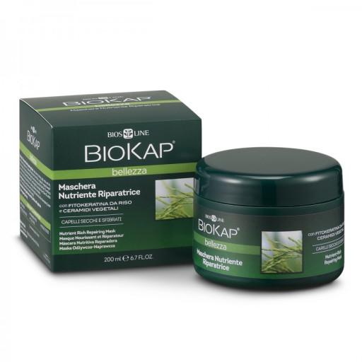 BIOS LINE  - Maschera Nutriente Riparatrice - Linea Biokap Bellezza - 200ml
