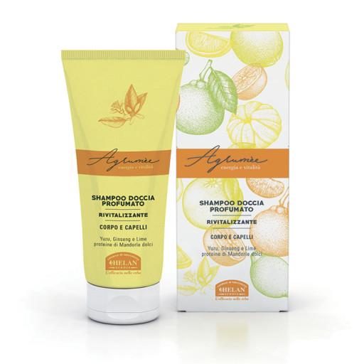 HELAN - Shampoo Doccia Profumato Rivitalizzante - Linea Agrumèe - 200ml