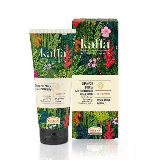 HELAN - Shampoo Doccia Gel Profumato corpo e capelli - Linea Kaffa - 200ml