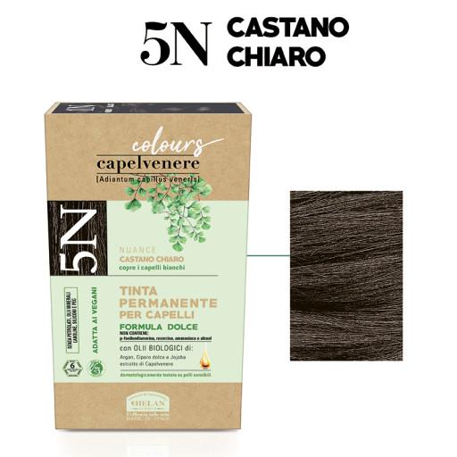 Tinta Permanente per Capelli - nuance 5N Castano chiaro