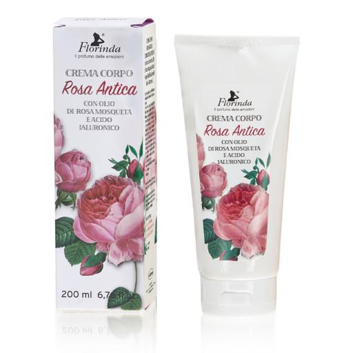FLORINDA - Crema Corpo Rosa Antica - 200ml