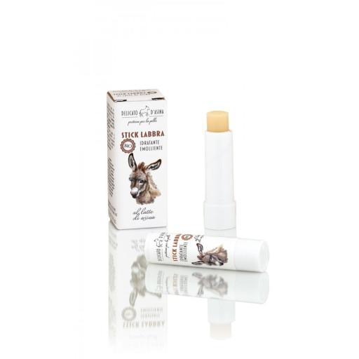DELICATO D'ASINA - Stick Labbra bio al Latte d'Asina - 5ml