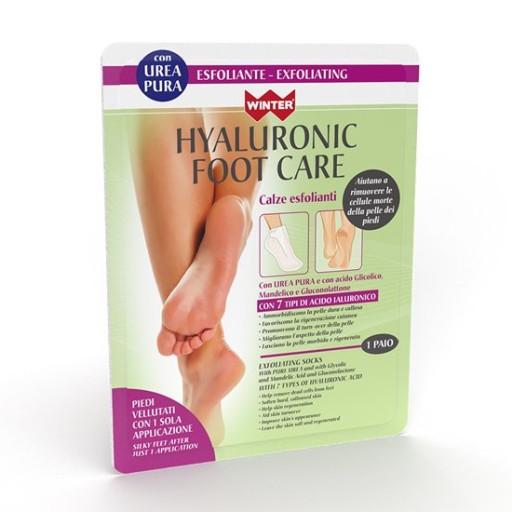 WINTER - Hyaluronic Foot Care - Calza Esfoliante - 1 paio