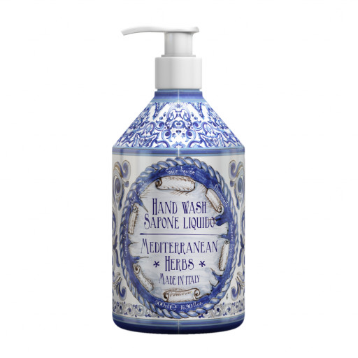Mediterranean Herbs - Sapone mani - 500ml