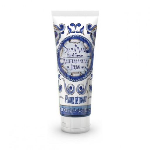 LE MAIOLICHE RUDY - Mediterranean Herbs - Crema mani - 100ml