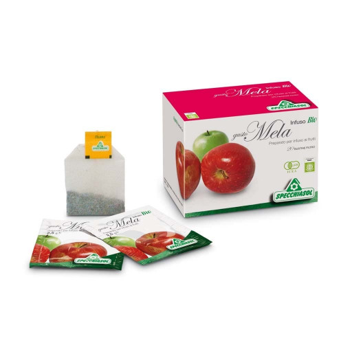 Mela - Infuso biologico - 20 bustine filtro