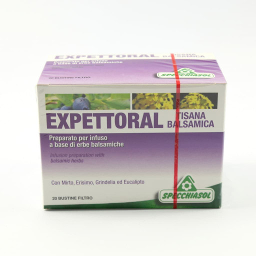 Expettoral tisana Balsamica - 20 bustine filtro
