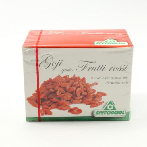 Goji e Frutti Rossi - Infuso biologico - 20 bustine filtro