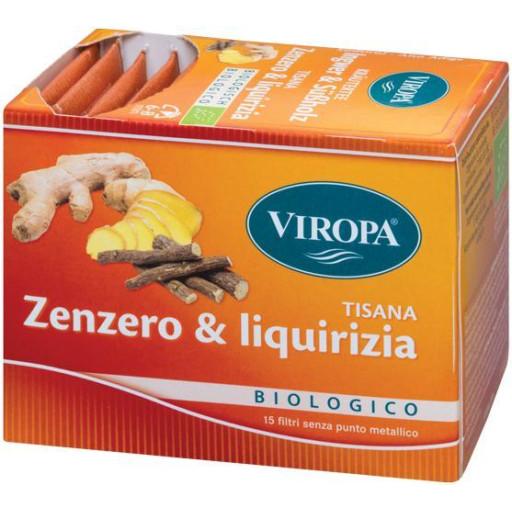 VIROPA - Zenzero & Liquirizia - Infuso ai frutti delicato - 15 filtri