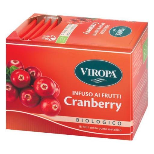 VIROPA - Cranberry - Infuso ai frutti - 15 filtri
