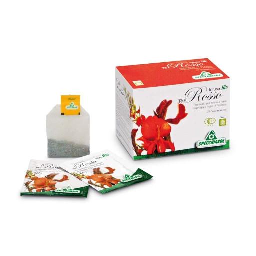 Tè rosso infuso bio - 20 bustine filtro