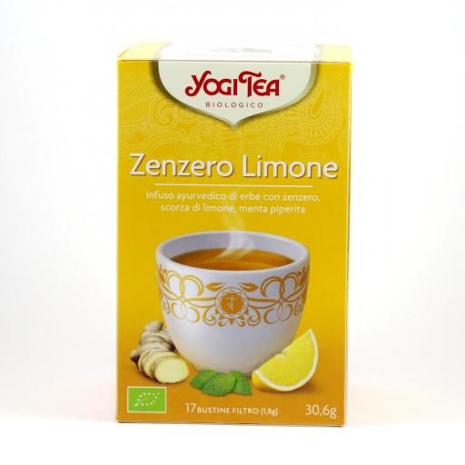 YOGI TEA - Infuso Zenzero Limone - 17 bustine