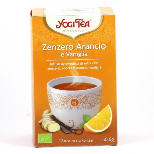 YOGI TEA - Zenzero Arancio e Vaniglia - 17 bustine